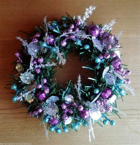 17 best images about purple teal silver christmas ideas