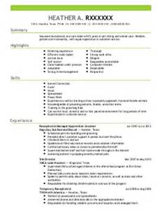 veterinary aquarium and marine resume exles find