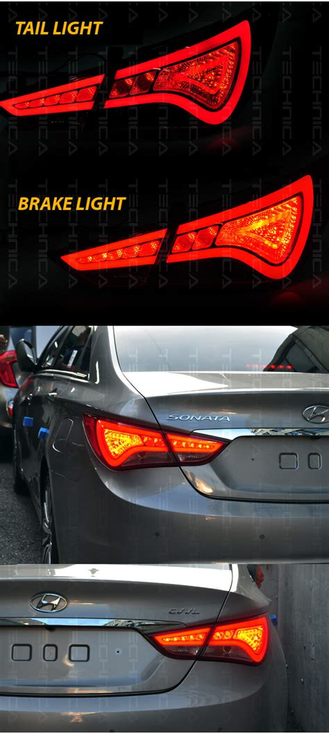 2012 hyundai sonata brake light bulb oem genuine parts led tail light rear l for hyundai