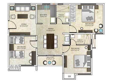 dtc southern heights  kolkata amenities layout price