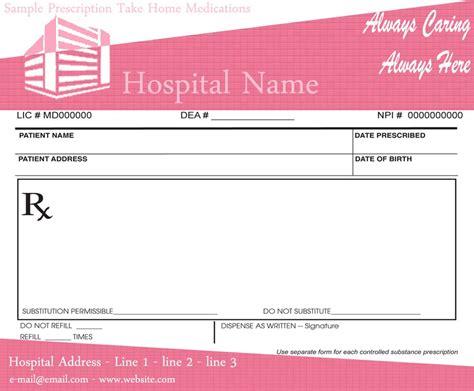 template for prescription pad prescription pads template for doctors ninareads
