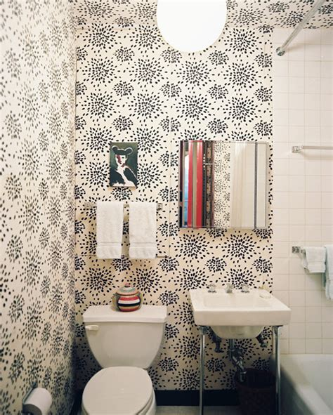 wallpaper ideas for small bathroom 5 favorites wallpapered powder rooms simplified bee