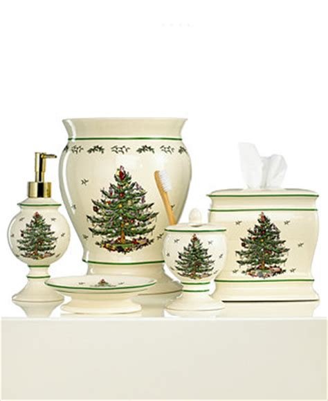 spode bathroom accessories spode bath accessories christmas tree collection