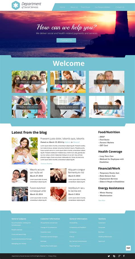 Society Culture Responsive Website Template 50716 Society Website Templates Free