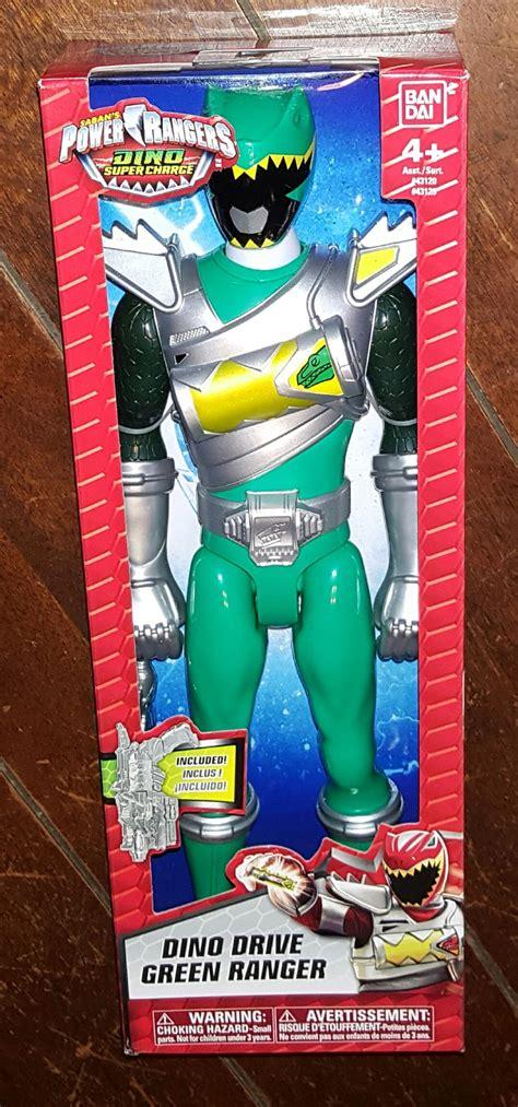 Power Rangers Sabans Figure 13cm saban s power rangers dino drive green ranger 12 quot figure 2015 tv