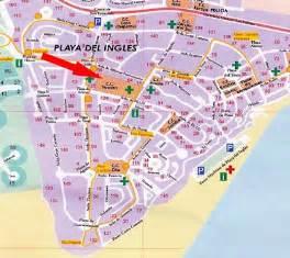 Shopping Center Floor Plan by Gran Canaria Playa Del Ingles