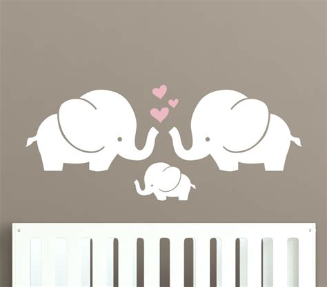 These Guys Will Be Your Decal Bffs Project Nursery Wall Elephant Nursery Wall Decal