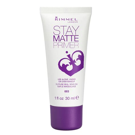 Review Rimmel Stay Matte Primer rimmel stay matte primer 003 30ml drugs
