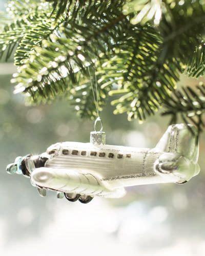 charming vintage airplane ornament christmas tree