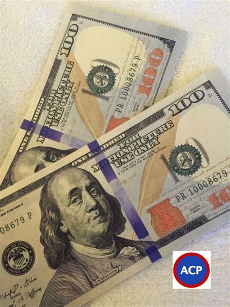 How To Make Paper Money That Looks Real - 2x 100 bills best prop money but looks