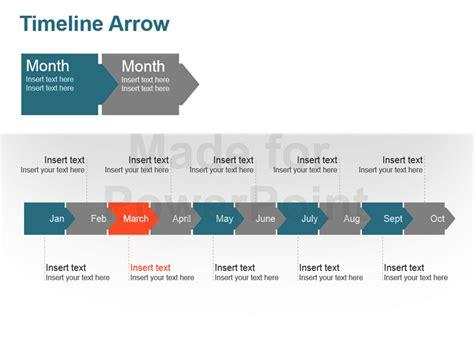 Timeline Arrow Editable Powerpoint Template Editable Timeline Template Powerpoint