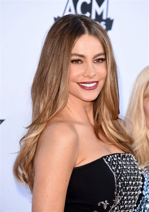 Sofia Vergara Hairstyle by Sofia Vergara S Layered Cut The Most Gorgeous Hairstyles