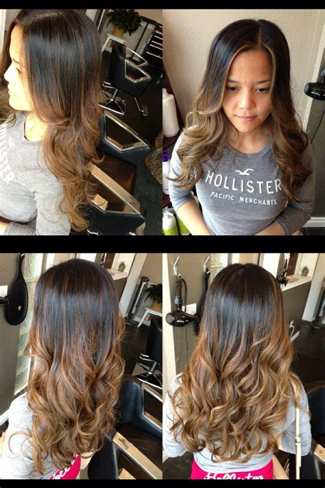 average cost for balayage caramel balayage balayombre hair by me pinterest