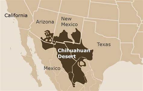 texas desert map chihuahuan desert desertusa
