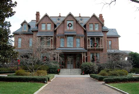 Queen Anne Style Home Governor S Mansion Raleigh North Carolina Nc The