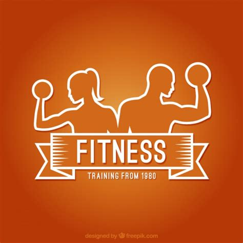 imagenes logos fitness fitness logo vector free download