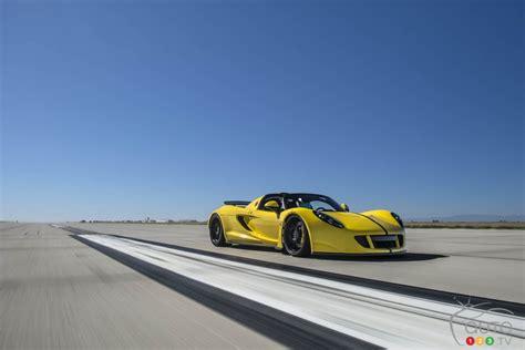 hennessey venom gt spyder specs hennessey venom gt spyder sets speed record at 427 4 km h