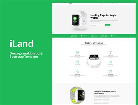 Bootstrap Website Templates Free Download 2017 Landing Page Html Template