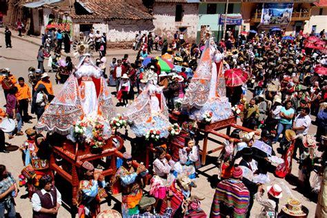 la fiesta de la declaran patrimonio cultural de la naci 243 n a fiesta de virgen asunta de coya en cusco noticias