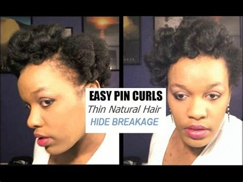 youtube natural hairstyles for fine hair best hairstyles for thinning hair pin curls updo on