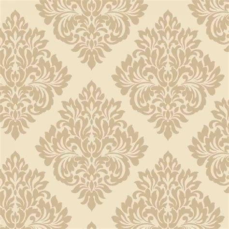 decorline sparkle damask wallpaper cream gold dl