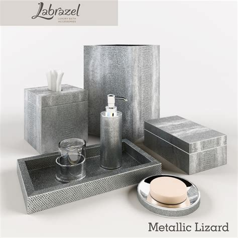 3d Models Bathroom Accessories Bathroom Accessories 3d Model Accessories Metallic Labrazel