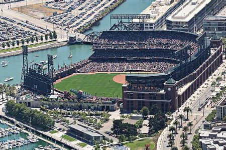 pac bell park seating at t park san francisco giants ballpark ballparks of