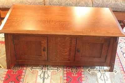 arts and crafts mission solid quarter sawn white oak