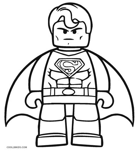 Coloring Book Pages Superman | free printable superman coloring pages for kids cool2bkids