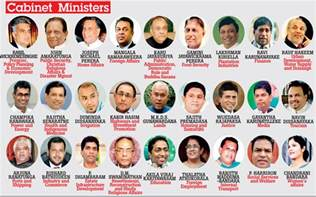 What Does Cabinet Minister List Of Ministries Sri Lankan Government