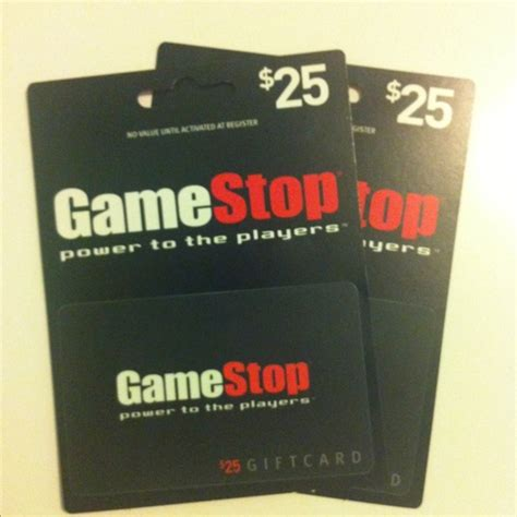 How To Use Gamestop Gift Card - free 50 gamestop gift card 2 25 each video games listia com auctions for