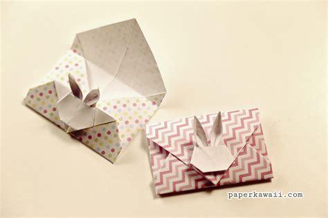 Origami Bunny Envelope - origami rabbit envelope comot