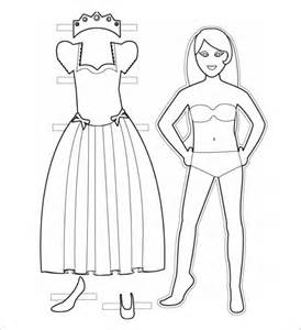 Blank Paper Doll Template by Blank Paper Doll Template Paper Template 39 Free Word