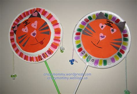 china crafts for tiger drum family crafts