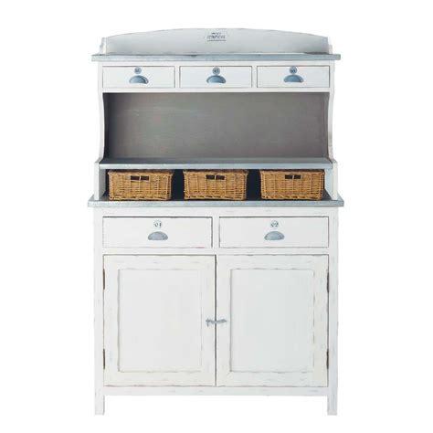 Agréable Cuisine Style Bord De Mer #10: Vaisselier-en-bois-de-paulownia-blanc-l-105-cm-sorgues-1000-15-18-116499_1.jpg