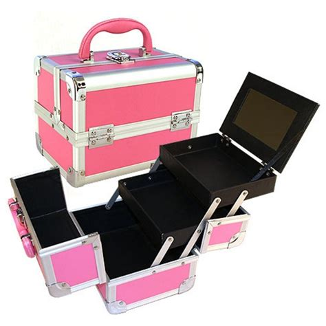 Box Makeup seya pink makeup organizer cosmetic kit