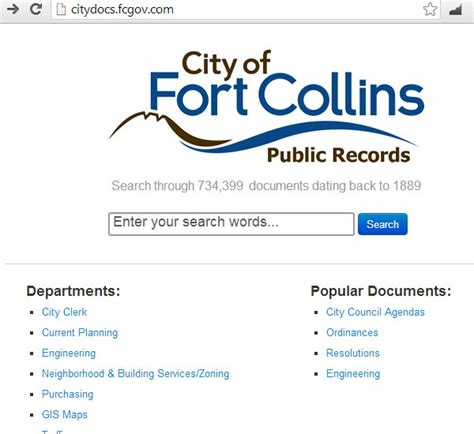 Fort Collins Records How To Find Building Permits Co S And Other Docs Kenny Layton Realtor