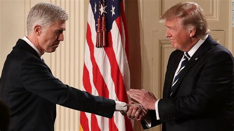 neil gorsuch fly fishing trump urges gop to trigger nuclear option on gorsuch