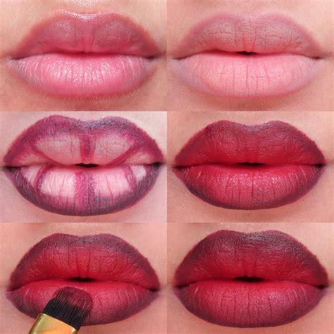 makeup tutorial lips step by step lip makeup tutorial 3 different gradient