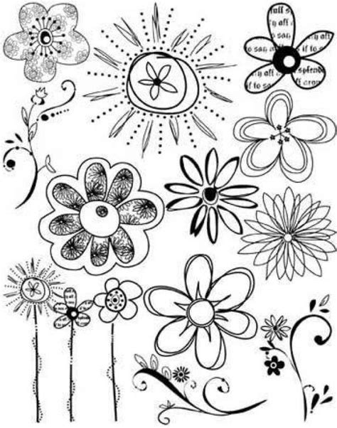 draw doodle and decorate 17 best ideas about doodle flowers on doodle