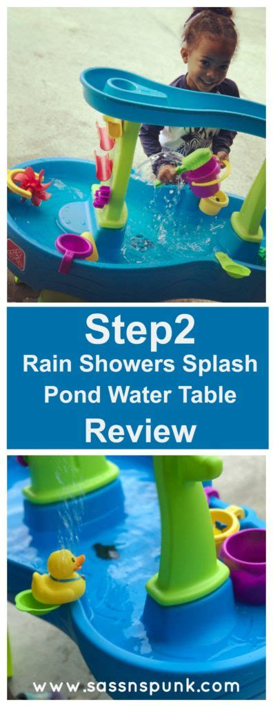 2 showers water table step2 showers splash pond water table tara