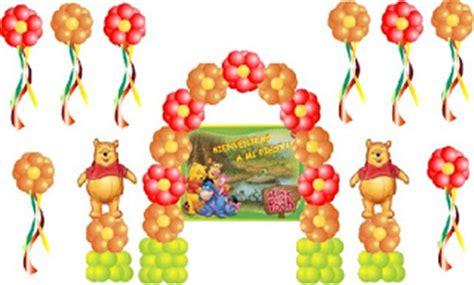 imagenes de winnie pooh con globos ingenio fiesta decoraciones por tema