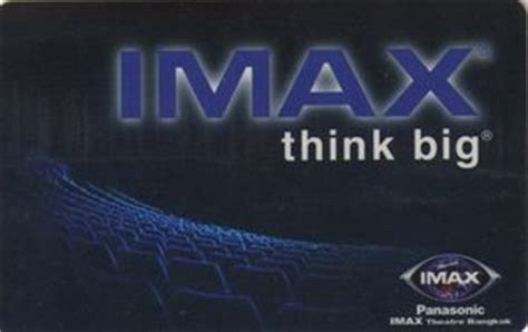 Imax Gift Cards - gift card think big 2 imax thailand movies col th imax 12