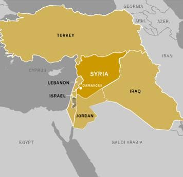 syria middle east map syria ous business should we intervene rockwall