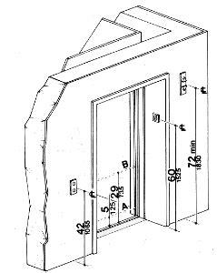 Fig. 20 Hoistway and Elevator Entrances