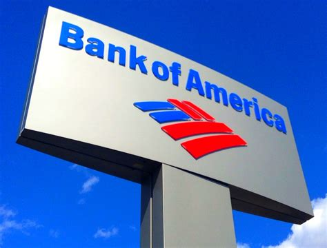 bank of american bank of america bank of america sign by mike mozart of