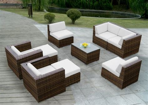 wicker resin patio set resin wicker patio furniture home outdoor