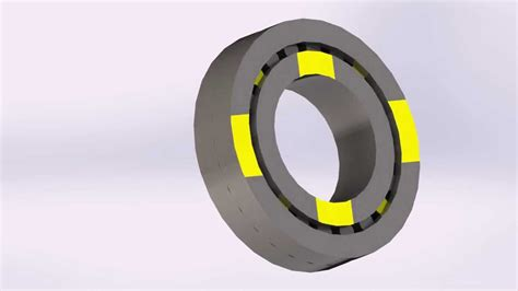 solidworks 2013 tutorial simple animation youtube solidworks simple animation roller bearing youtube