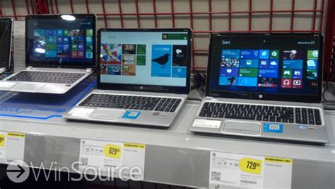 windows 8 pcs now available on display for trial at best