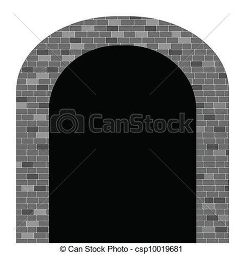 imagenes de web tunnel vector of tunnel vector illustration wtih brick on white
